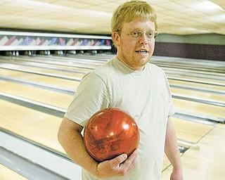 Chris Hood enjoys some bowling at Kay Lanes in Girard.