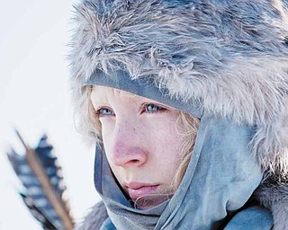 """In this film publicity image released by Focus Features, Saoirse Ronan is shown in a scene from """"Hanna."""" (AP Photo/Focus Features, Alex Bailey)"""