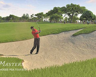 """In this video game image released by EA Sports, a scene from """"Tiger Woods PGA 12: The Masters"""" is shown."""