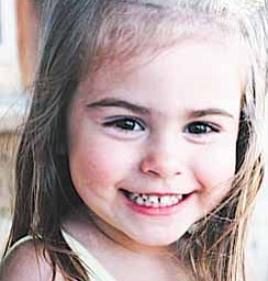 This undated photo provided by Joan Atwater shows 4-year-old Ashley Atwater. Authorities say Alan Atwater killed Ashley and two of his other children, along with his wife and himself inside a farmhouse Saturday, April 16, 2011, in Oak Harbor, Ohio.