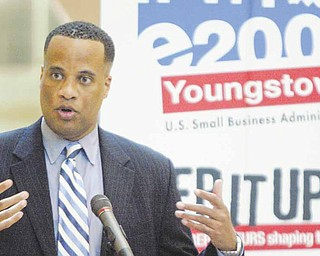Mayor Jay Williams said Tuesday that the E200 Emerging Leaders initiative is important to the city, which he said is heavily influenced by small businesses.