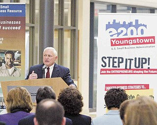 Gil Goldberg, Small Business Administration business director, announced Tuesday the list of area businesses participating in the E200 Emerging Leaders initiative, which will help businesses build for the future.