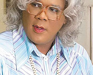 Madea (Tyler Perry) in TYLER PERRY'S MADEA'S BIG HAPPY FAMILY.