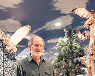 Jim Kerr, who retired after 30 years as a Beaver Local schools biology teacher, is the curator and preservationist at Beaver Creek Wildlife Education Center, which will have a ribbon-cutting ceremony at noon Saturday for the latest addition to the facility.