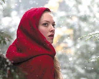 """Amanda Seyfried starred in the disappointing box-office March release of """"Red Riding Hood."""""""
