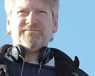 Director Kenneth Branagh on the set of THOR, from Paramount Pictures and Marvel Entertainment.