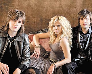 The Band Perry is, from left, Reid, Kimberly and Neil Perry.