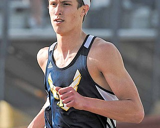 Miles Dunlap of McDonald High School won the 100- and 200-meter dashes, anchored the first-place winning 4x100 relay team, and was named the meet's boys MVP.
