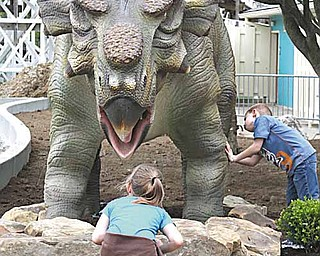 Dinosaur's Alive at King's Island.