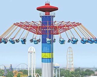 The Windseeker is Cedar Point's newest ride.