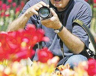 Steve Lynn, an amatuer lensman from Boardman, has been photographing at the gardens since the 1960's.