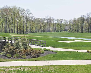 A view of the natural visuals of Kennsington Golf Club in Canfield. New general manager Paul Otto hopes to use the aesthetics of the course, as well as its interesting layout, to draw in more customers and expand the game of golf.