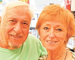Pat Mackondy and Geri Burton