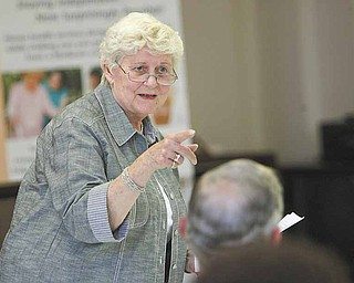 Melissa Long, former Cortland mayor and a board member of the Ohio Alliance for Retired Americans, said the issue is can senior citizens continue to have medical care that they can afford.