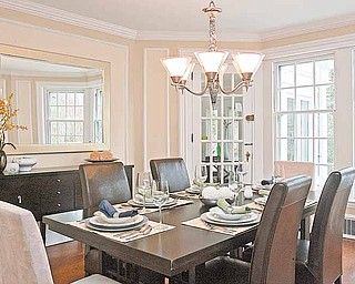 So you see it on HGTV every week and you think you can do it. Preparing rooms for staging in a house, such as this dining room, can help determine if a house shows well. (Akira Suwa/Philadelphia Inquirer/MCT)
