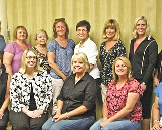 Committee members for the Simply DeVine Gala, a benefit now in the planning stages to benefit The Way Station in Columbiana, met recently. They are, from left to right in back, Chris Chamberlain, Diane Barnes, Carol Garneski, Jodi Taylor, Ginny Perkins, Betty Belding, Amanda Frost and Debbie Williams. In the front, from left, are Tish Blasdell, Alison Hoskinson, Sharon Frost (co-chair), Cindy Burdick (co-chair) and Cindy O'Brian. Committee members not in the photo are Vicki Hopper, Gail Hettrick, Pat Keylor, Mary Romeo, Jack and Dinah Sitler, Kathy Smith, Leah Wilson, Vicki Zeigler, Betty McKendry, Terry Hutson and Julie Downie.