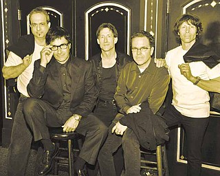 Donnie Iris and his band