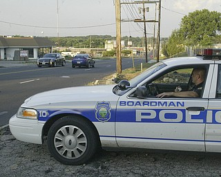 Boardman Police Department on patrol.