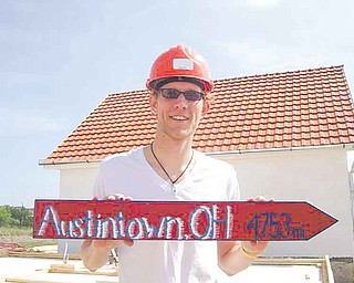 Justin Setty of Austintown joined the Peace Corps nearly two years ago and was sent to Romania, where he teaches English as a foreign language.