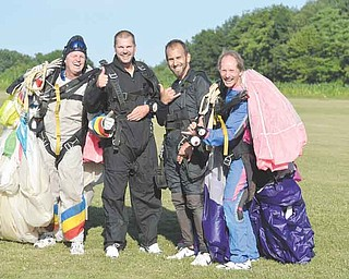 RAMI DAUD | THE VINDICATOR.(left to right) Paul Washak, Michael Notar, Lenny Botak and Benjamin Kellogg.