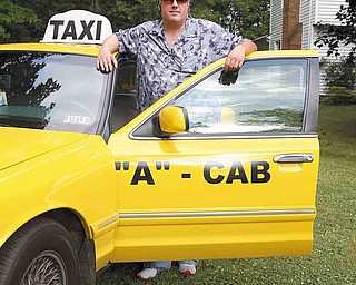 """Brian Bleggi is the owner of """"A""""-Cab, an Austintown-based taxi company."""