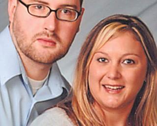 Joseph Harvey and Amanda Brickman