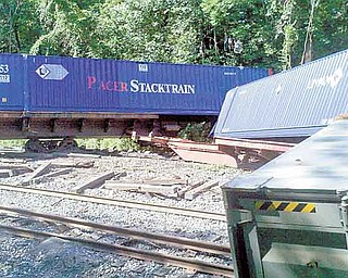 The crash of up to 73 train cars that derailed from CSX tracks in Niles on Saturday startled nearby residents. It was the second CSX derailment in the area this year.