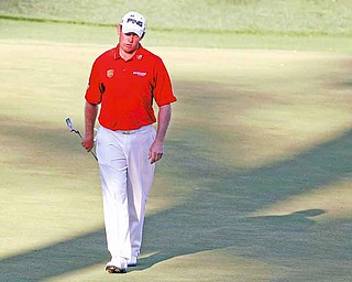 """Lee Westwood of England comes into the PGA Championship as the No. 2 golfer in the world behind Luke Donald and with the goal of trying to win a major — only not trying so hard. """"It's time to relax and let it flow,"""" he says."""