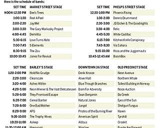 VexFest 8 Schedule