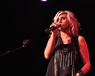 Sarah Turner performs at Gossip in Austintown on August 12, 2011.