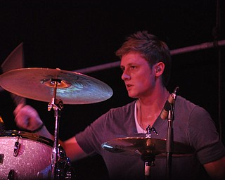 A member of Sarah Turner's band performs at Gossip in Austintown on August 12, 2011.