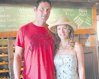 Doug Shannon and his wife, Connie, run the Lago Winery in Jamestown, Pa, near Pymatuning Lake and the Jamestown Deer Park. Lago means lake in Italian.