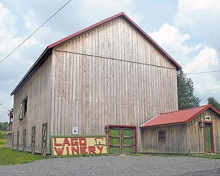 Step inside this renovated barn for a glass of vino and some live entertainment. The barn was built in 1904 and was once an exhibition building at the 1904 World's Fair in St. Louis.