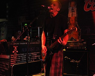 Clearscale performs inside Barleys during VexFest 8.