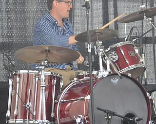 Local band JD Eicher and The Goodnights performs during VexFest 8 in downtown Youngstown on Sunday, August 14, 2011.