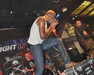 Broooklyn-based band Ashes Within performs inside Barleys during VexFest 8.
