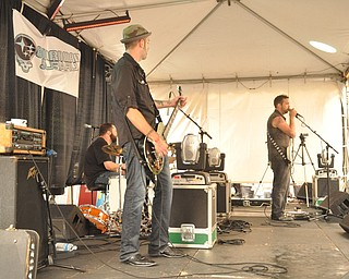 Local band White Cadillac performs on the Phelps Street stage during VexFest 8 on Sunday, August 14, 2011 in downtown Youngstown.