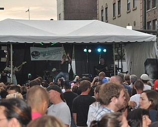 Via Sahara performs during VexFest 8 in downtown Youngstown on Sunday, August 14, 2011.