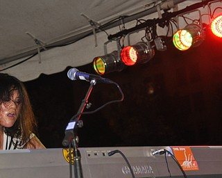 The Zou performs during VexFest 8 in downtown Youngstown on Sunday, August 14, 2011.