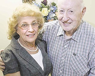 Rose Marie Enderton, 80, and Paul Achey, 86, met at the Austintown Senior Center in March and have been together ever since.