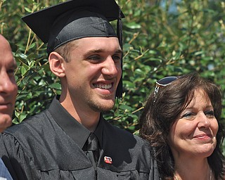 Nick Cironi of Warren, OH celebrated his recent graduation from YSU with his family.  Nick is a.Criminal Justice major who received his Bachelor of Science at the 2011 Summer commencement...Photo By:  Lindsay Y McCall | The Vindicator