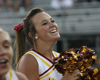 From Cardinal Mooney at Canton McKinley come from behind victory:  Cheerleader