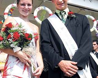 Sara Cummings and Joshua Kramer were selected as 2011 Outstanding Youth winners. Outstanding Youth candidates represent youths involved in any of the seven Junior Fair organizations: Boy Scouts, Girls Scouts, 4-H, Camp Fire, Future Farmers of America, Grange and Farm Bureau.