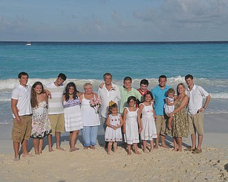 Anthony and Joan Julian of Youngstown are pictured with their grandchildren in Cancun, Mexico, the summer of 2010.