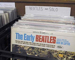 """Underdog Records survived both the CD and now the MP3 era of music. Besides this Beatles album, owner Ron """"Sonny"""" Hrehovcik has several of their rare mono-recorded albums ranging in value from $20 to $100."""