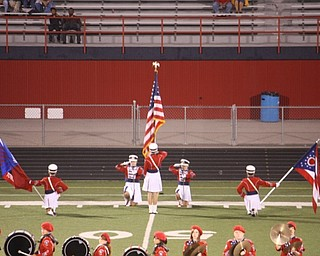 fitch band and color guard - remembrance of 9/11