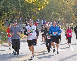 Runners enjoyed autumn's glory during the during the 2010 Peace Race. The 2011 edition of the race will be on Oct. 23.