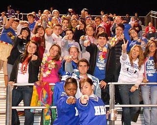 Hubbard Student section vs. Lakeview 9-23-11