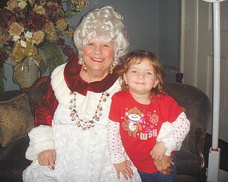 Children age 3 to 9 can enjoy Story Time with Mrs. Claus at the Harriet Taylor Upton House, 380 Mahoning Ave. NW in Warren. The event will take place from 12:30 to 2 p.m. and 3:30 to 5 p.m. Dec. 10 and from 2 to 3:30 p.m. Dec. 11. Children will get an individual photo with Mrs. Claus and can decorate a photo frame or do other craft items. A child-friendly lunch and dessert will be available, and adults will be served refreshments in the library. The cost is $10 per child, and reservations are required and due by Nov. 30. For reservations, call 330-360-0901 or email maxec226@gmail.com. Registration forms are available at www.uptonhouse.org.
