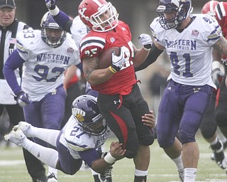 ROBERT K. YOSAY | THE VINDICATOR...YSU vs Western Illinois - homecoming at YSU and a win 56-14 ......-30